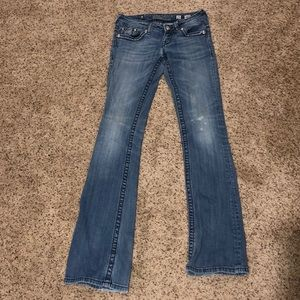 Miss Me size 25 girls bootcut jeans (girls)